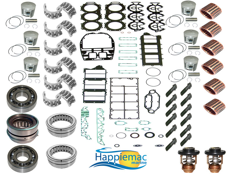 Yamaha 250 300 hp 3 3l hpdi v6 powerhead rebuild kit for Yamaha 250 hpdi specs