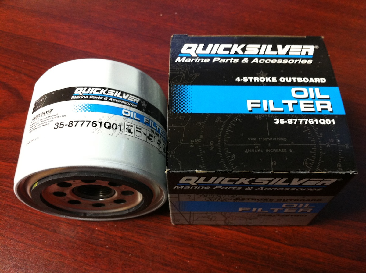 Details about Mercury Mariner Outboard 75 90 115 HP 4 Stroke OEM Oil Filter  35-877761Q01 Four
